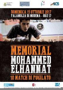 MODENA, BOXE: MEMORIAL ELHANNAT @ PalaMolza