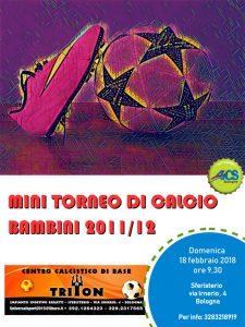 BOLOGNA, MINI TORNEO DI CALCIO BAMBINI