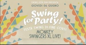 BOLOGNA, SWING FOR PARTY – FESTA DI FINE CORSI 2018/19